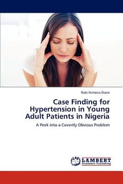 portada case finding for hypertension in young adult patients in nigeria