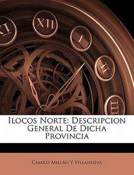 portada ilocos norte: descripcion general de dicha provincia
