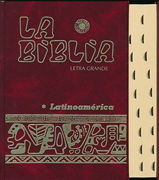 portada La Biblia Latinoamérica [Letra Grande] Cartoné , con Uñeros