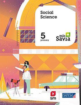 portada SOCIAL SCIENCE 5PRIM MAS SAVIA