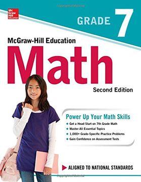 portada Mcgraw-Hill Education Math Grade 7, Second Edition (libro en inglés)