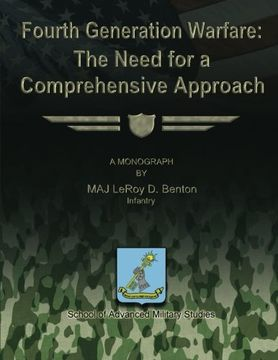 portada Fourth Generation Warfare:  The Need for a Comprehensive Approach