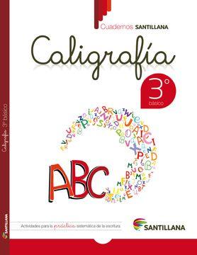 portada Cuaderno Santillana Caligrafia 3º Basico (2015) Santillana