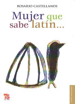 portada Mujer que Sabe Latín (Letras Mexicanans)