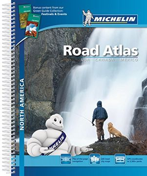 portada Road Atlas North America - USA, Canada, Mexico (Atlas de carreteras Michelin)