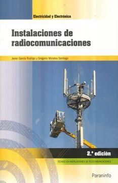 portada Instalaciones de Radiocomunicaciones 2. ª Edición 2018