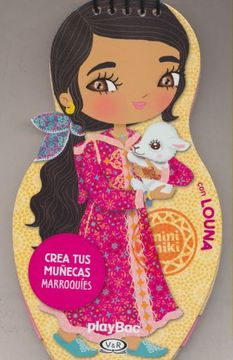 portada Crea tus Muñecas Marroquies con Louna