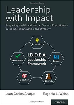 portada Leadership With Impact: Preparing Health and Human Service Practitioners in the age of Innovation and Diversity (libro en inglés)