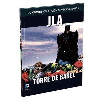 portada Dc Comics: Liga de la Justicia: Torre de Babel: 4
