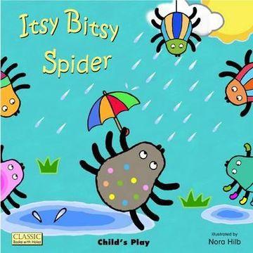 portada itsy bitsy spider. illustrated by nora hilb
