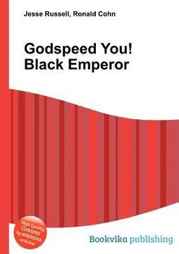 portada Godspeed You! Black Emperor (libro en Inglés)