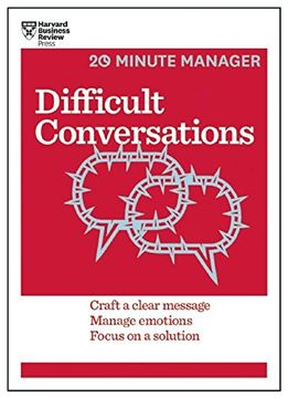 portada Difficult Conversations (HBR 20-Minute Manager Series)