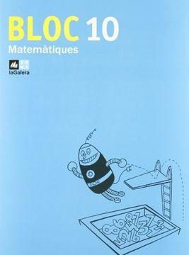 portada Bloc Matemàtiques 10 (libro en Catalán)