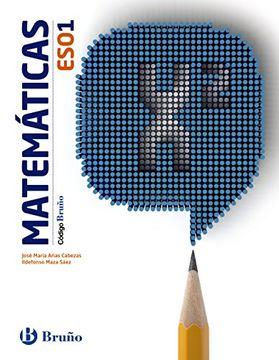 portada 1ESO CÓDIGO BRUÑO MATEMÁTICAS 1 ESO. EDICION 2015