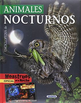 portada Enciclopedia de Animales Nocturnos (Biblioteca Esencial)