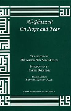 portada al-ghazzali on hope and fear