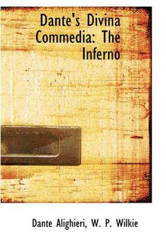 portada Dante's Divina Commedia: The Inferno (Bibliolife Reproduction) (libro en Inglés)