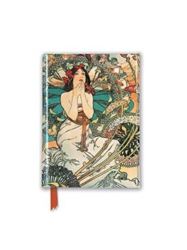 portada Mucha: Monaco Monte Carlo (Foiled Pocket Journal) (Flame Tree Pocket Books) (libro en inglés)