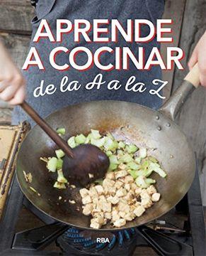 portada Aprende a Cocinar de la a a la z