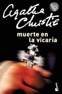portada Muerte en la Vicaria (Biblioteca Agatha Christie) (Booket) (Rustica)