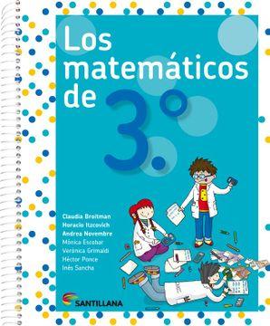 portada Matematicos de 3 Santillana (Novedad 2017)
