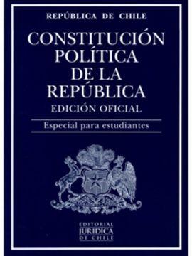 portada Constitución Política de la República - Edicion Oficial (Para Estudiantes)
