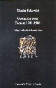 portada Guerra sin Cesar. Poemas. 1981-1984 (Visor de Poesía)