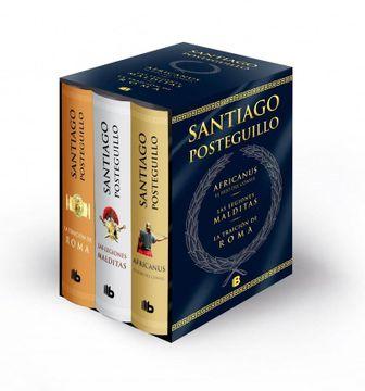 portada Trilogía Africanus (b de Bolsillo)
