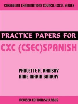 portada Practice Papers for cxc (Csec) Spanish