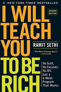 portada I Will Teach you to be Rich: No Guilt. No Excuses. No bs. Just a 6-Week Program That Works (libro en Inglés)