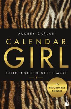 portada Calendar Girl 3