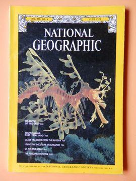 portada National Geographic. Vol. 153, No. 6. June 1978