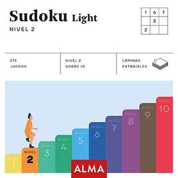 portada Sudoku Light. Nivel 2 (Cuadrados de Diversión)