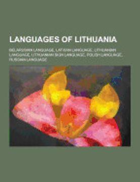 portada Languages of Lithuania: Belarusian Language, Latvian Language, Lithuanian Language, Lithuanian Sign Language, Polish Language, Russian Languag