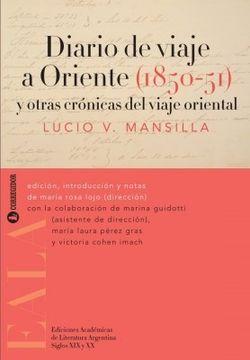 portada Diario de Viaje a Oriente, 1850-51, y Otras Cronicas del Viaje Oriental