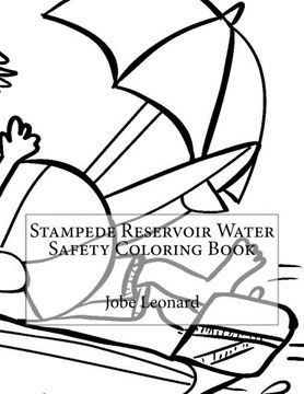 portada Stampede Reservoir Water Safety Coloring Book