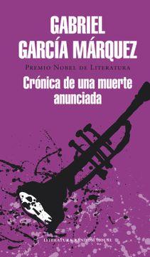 portada Crónica de una Muerte Anunciada (Literatura Random House)