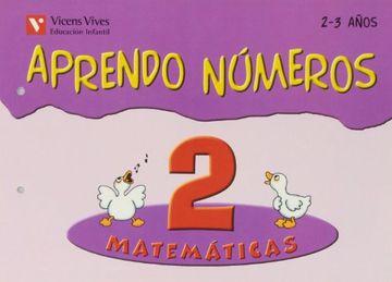 portada Aprendo Numeros. Cuaderno 2 (2 a 3 Años) Vicens Vives Ediciones