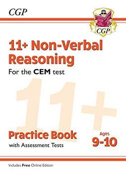 portada New 11+ cem Non-Verbal Reasoning Practice Book & Assessment Tests - Ages 9-10 (libro en inglés)
