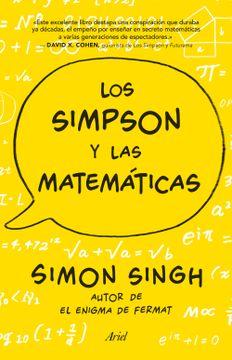 portada Los Simpson y las Matematica