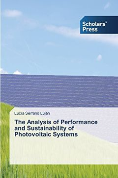 portada The Analysis of Performance and Sustainability of Photovoltaic Systems