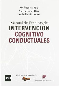 portada Manual de Técnicas de Intervención Cognitivo-Conductuales