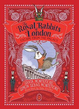 portada Escape From the Palace (Royal Rabbits of London) (libro en Inglés)