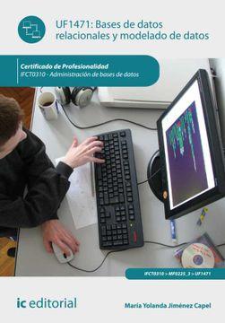 portada Bases de Datos Relacionales y Modelado de Datos. Ifct0310 - Administración de Bases de Datos