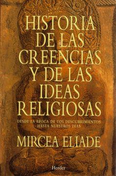 portada Historia de las Creencias y de las Ideas Religiosas