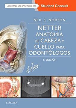 portada Netter. Anatomía de Cabeza y Cuello Para Odontólogos + Studentconsult (3ª Ed. )