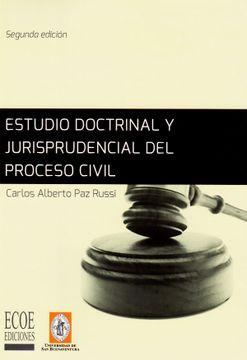 portada Estudio Doctrinal y Jurisprudencial del Proceso Civil