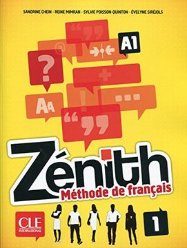 portada Zenith niveau 1 eleve + DVD ro