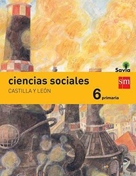 portada Ciencias sociales. 6 Primaria. Savia. Castilla y León