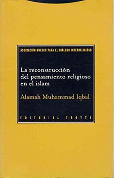 portada La Reconstruccion del Pensamiento Religioso en el Islam